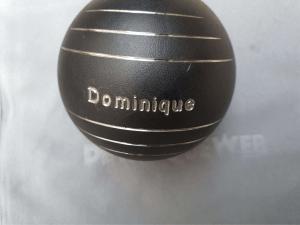 Boule pétanque personnalisée