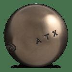 matière boule de pétanque, acier