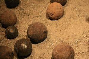 Histoire de la pétanque avec les boules