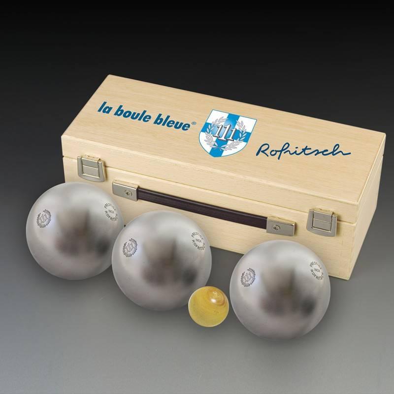 111 inox collector la boule bleue