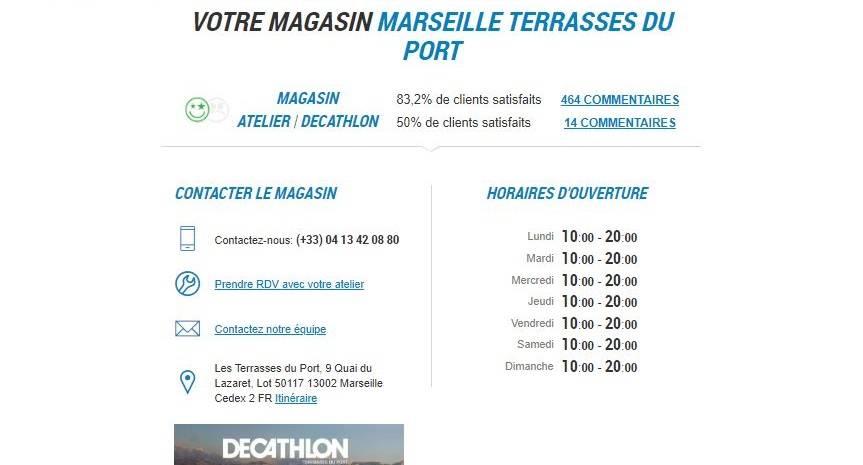 Decathlon Marseille