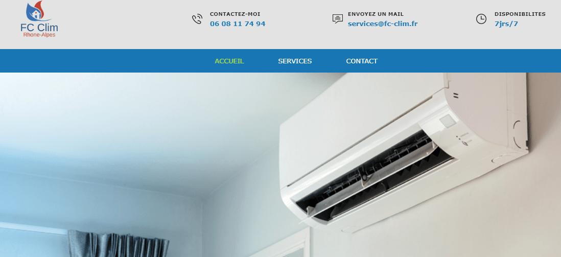 FC CLIM installateur climatisation Lyon
