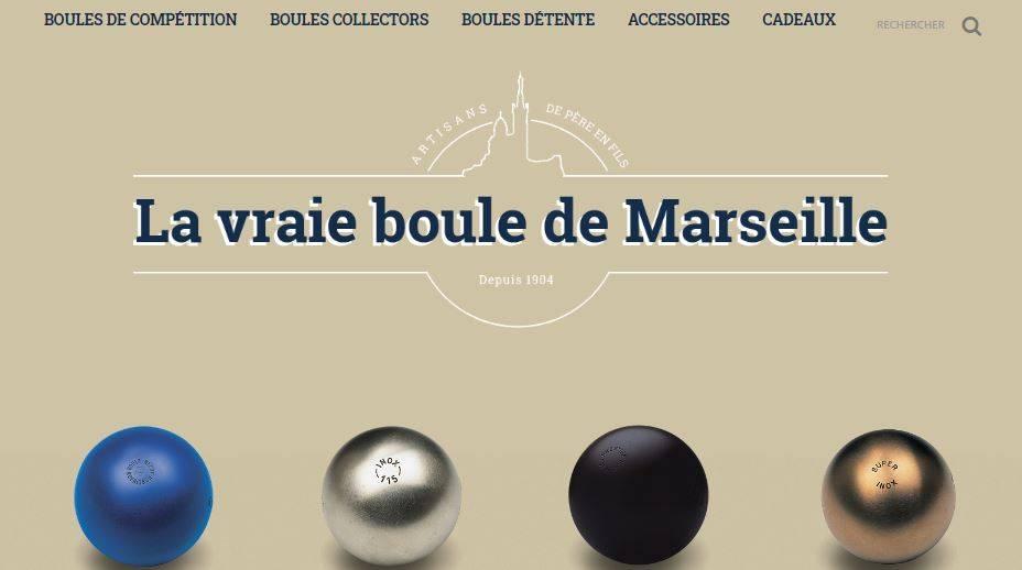 la boule bleue Marseille