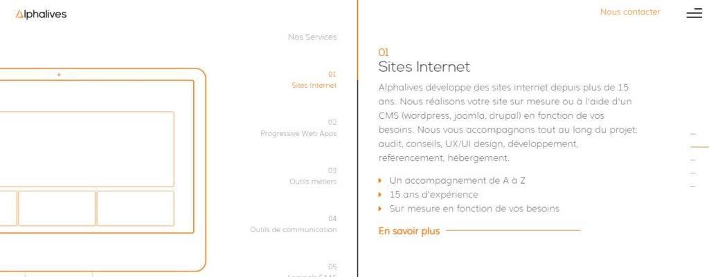Alphalives agence web Paris