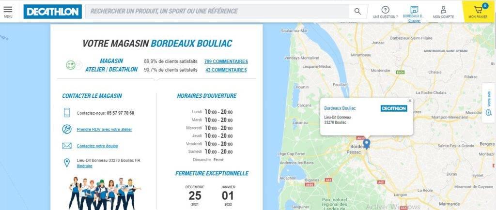 Décathlon Bordeaux