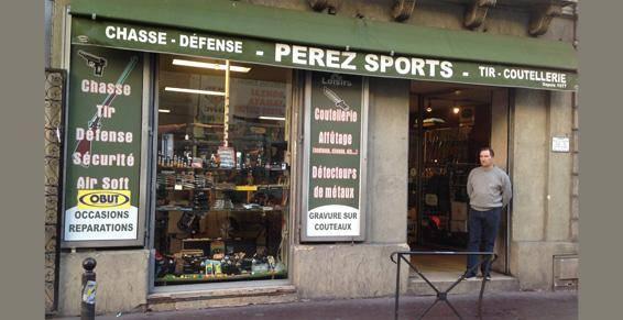 l'armurerie Pérez Sports - Armes et Loisirs
