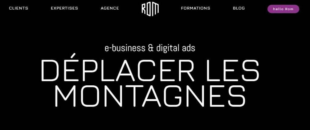 ROM agence web Nice