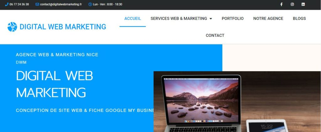 Agence web digital Nice