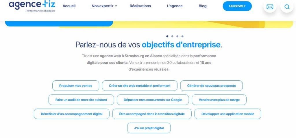 Tiz agence web Strasboourg