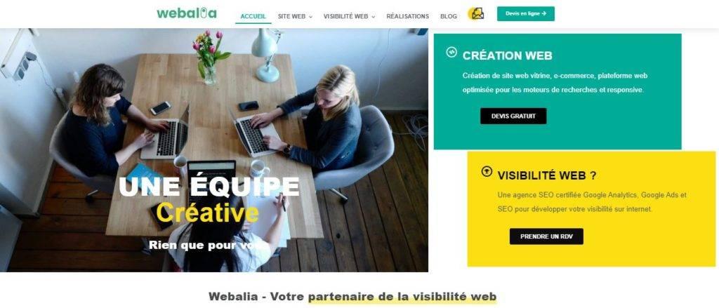 Webalia agence web Strasbourg