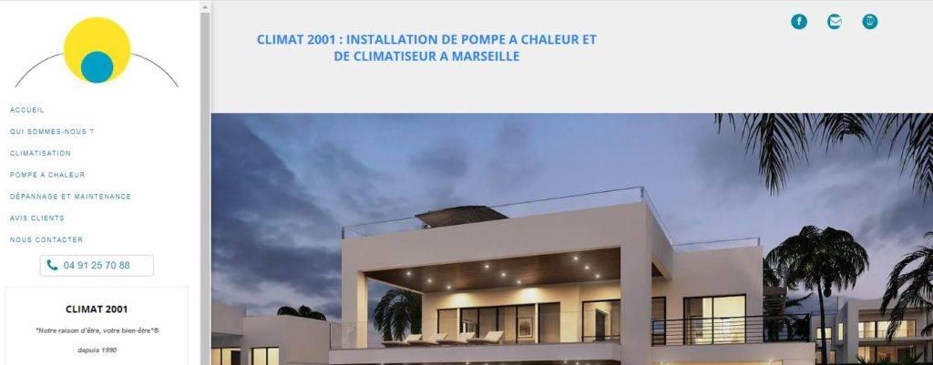 CLIMA 2001pompe à chaleur Marseille