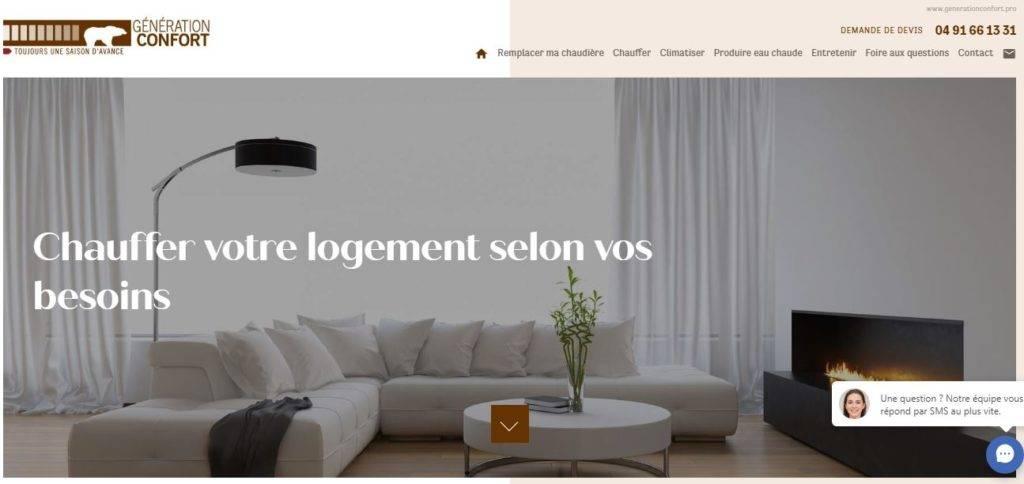 Génération Confort PAC Marseille