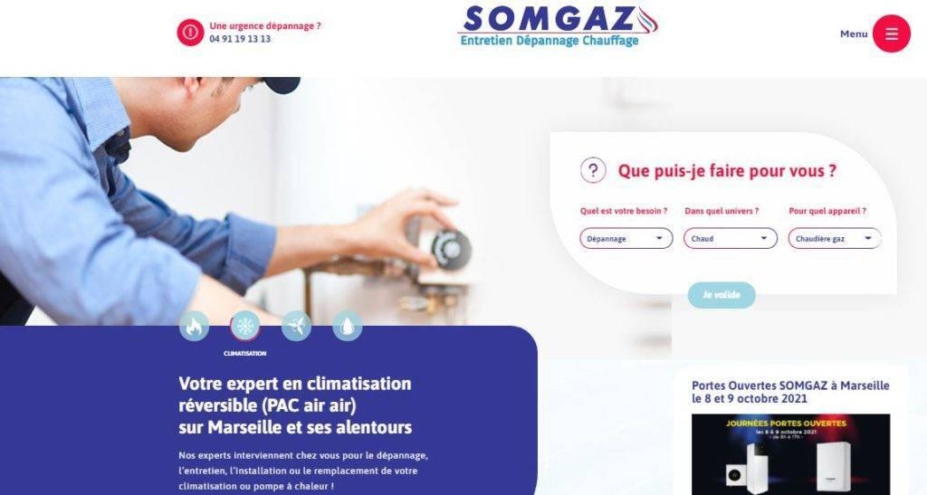 SOMAGAZ pompes à chaleur Marseille